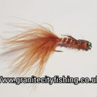 Damsel Marabou Brown Nymph