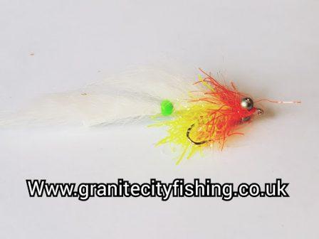 Cut Throat Orange & White Bunny Leach