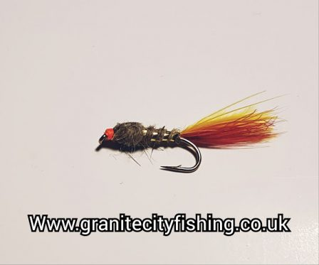 Fiery Gold Ribbed Nymph