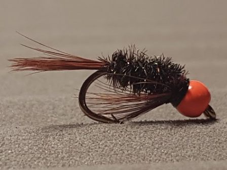 Bead head Diawl bach Trout Fly From Granite city fishing