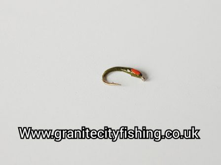 Olive Orange Hot Spot Buzzer