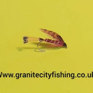 Grouse & Claret wet fly.