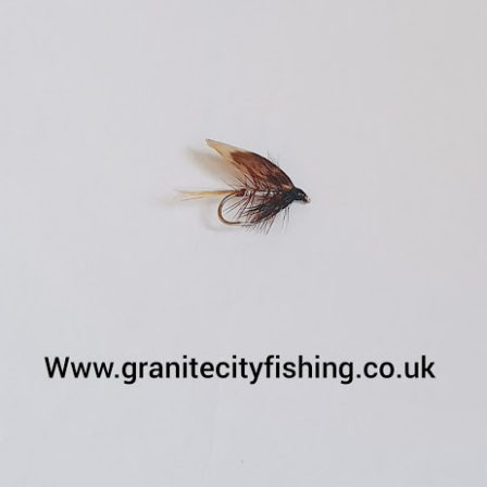 Silver Invicta Wet Fly.