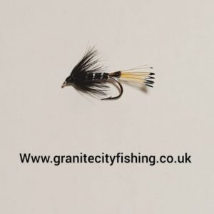 Black Pennal Wet Fly.