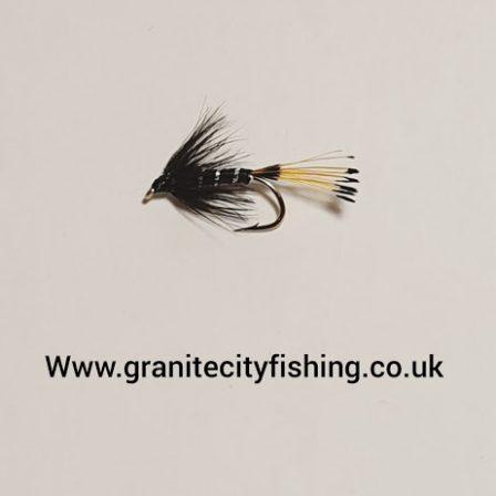 Black Pennal Wet Fly.