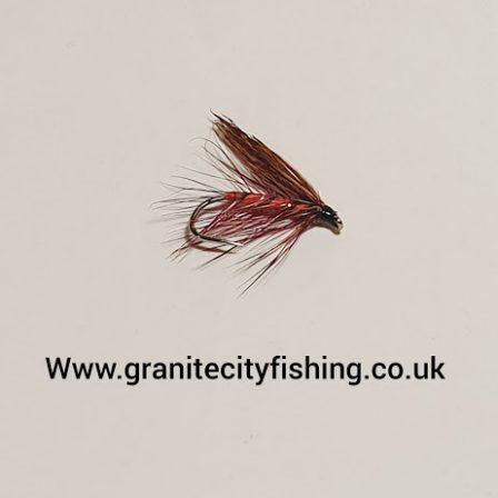 Dark Mackerel Wet Fly.