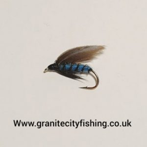 blue bottle wet fly.