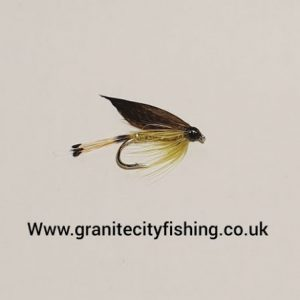 Golden Olive Wet Fly.