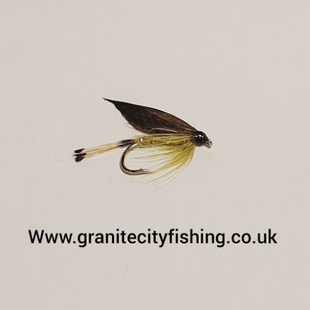 Golden Olive Wet Fly.