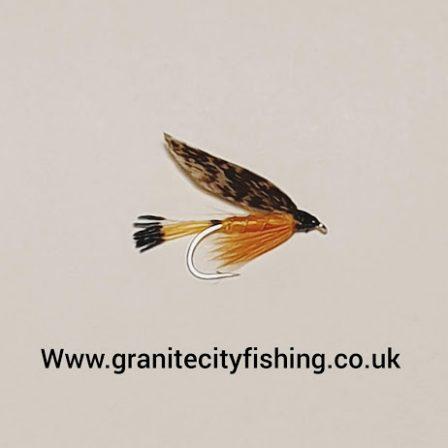 Grouse & Orange Wet Fly.