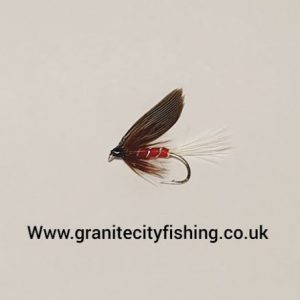 Red Spinner Wet Fly.