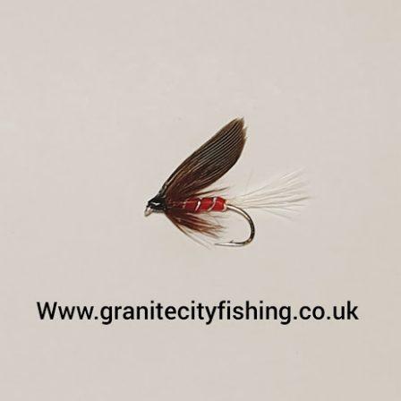Red Spinner Wet Fly.