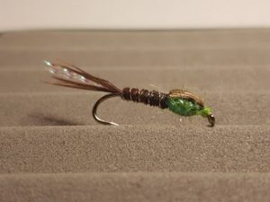 Pheasant Tail Fluo Green Fly