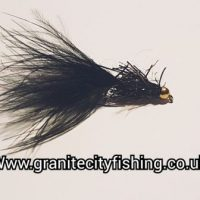 Black Taddy Goldhead Fly