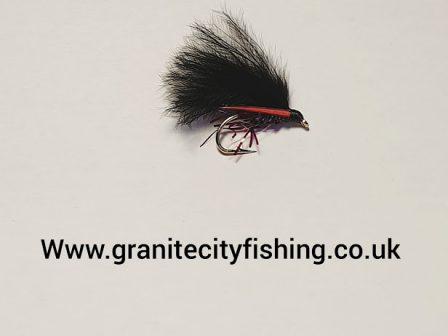 Claret UV Cormorant Fly