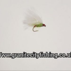 White Nuke Min Trout Lure