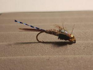 Blue Flash Pheasant Tail GH Fly