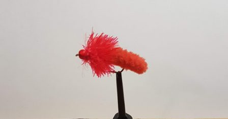 Red mop fly #10