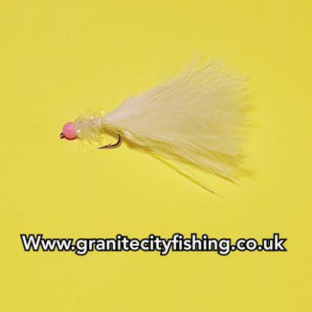White Micro Fritz pink hot head