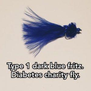 Type 1 T10 Dark Blue Fritz. (Charity Fly)