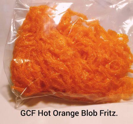 Hot Orange Blob Fritz in 1 & 2 meter lengths
