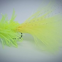 Atomic Yellow Creeper. Barbed or Barbless