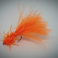 Orange Creeper. Barbed or Barbless